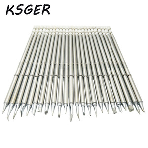Image 2 - KSGER T12 Soldering Solder Iron Tips T12 Series Iron Tip For Hakko FX951 STC AND STM32 OLED Soldering Station