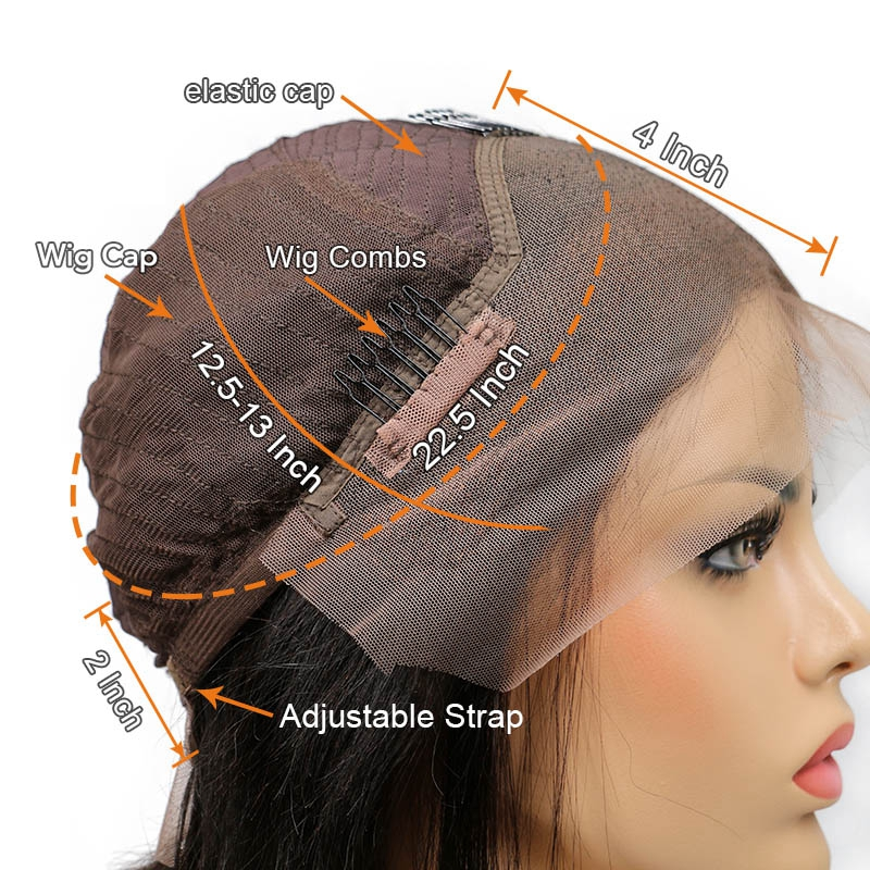 Image 5 - 1B/27 Lace Front Human Hair Wigs With Baby Hair Wavy Pre Plucked Ombre Color Brazilian Blonde Hair Wigs For Women Bleach Knots-in Human Hair Lace Wigs from Hair Extensions & Wigs