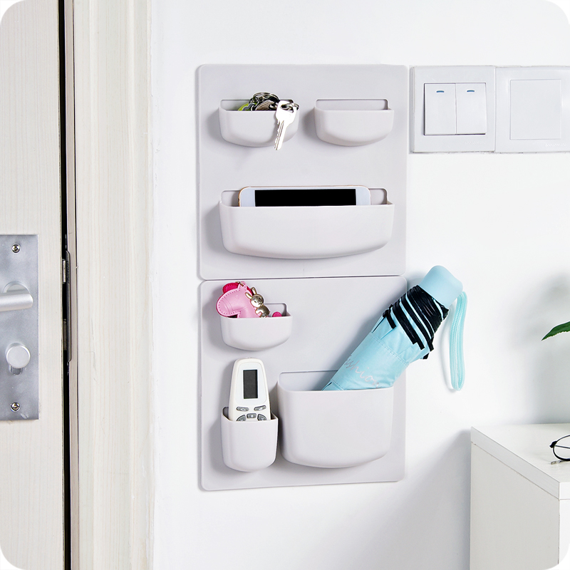 Stickers Large Plastic Walls Multi Function Bathroom Shelf