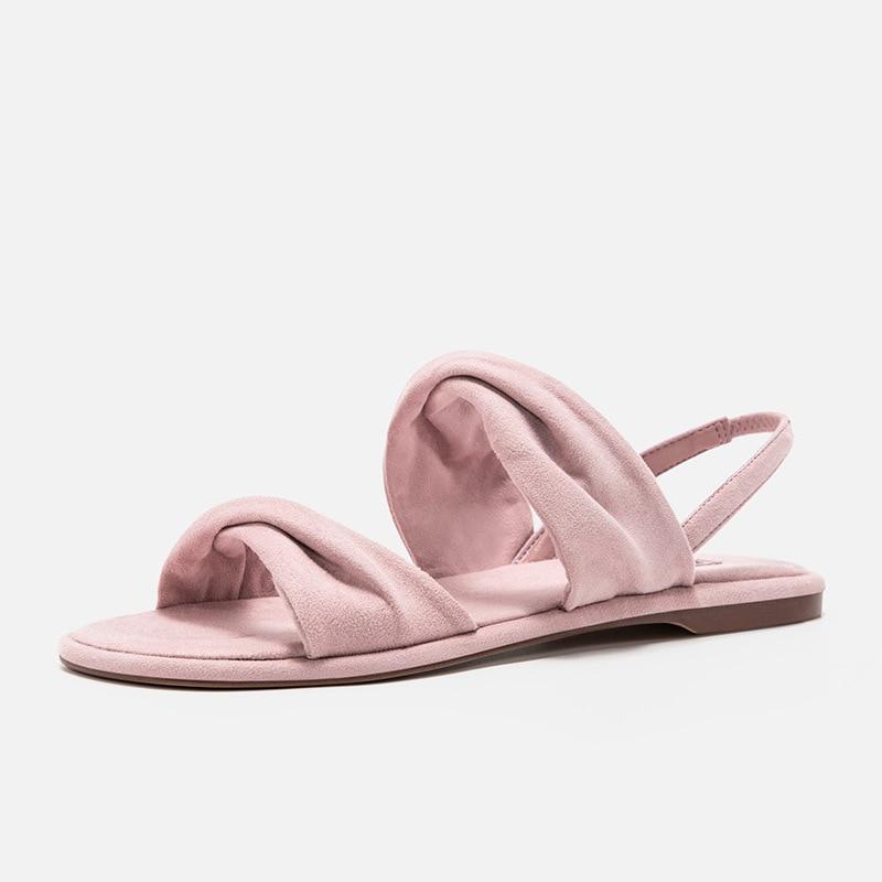 De Été Mignon Sandales 2019 Décontractées rose Mode bleu Style Nouvelle Femmes Décoration Couleur Chaussures Noir Nœud Confortable Double Simple Solide 0rOdROwq