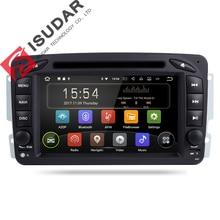 Isudar Автомобильный мультимедийный плеер Android 7.1.1 gps 2 Din автомагнитола для Mercedes Benz/W209/W203/M /ML/W163 Viano/W639/Vito/Vaneo радио