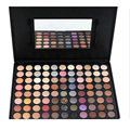 Pro 88 Full Color Makeup Naked Eyeshadow Brush Set Shimmer Matte Eyeshadow Cosmetic Make Up Palette Kit with Mirror