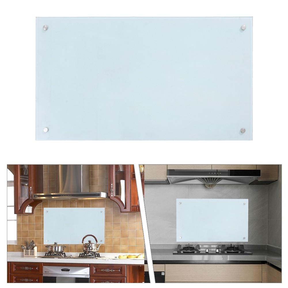 50 120 cm revetements cuisine en verre trempe thermoresistant credence en verre moderne splash guard verre de securite cuisine panneau arriere