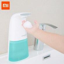 Nowa myjka ręczna Xiaomi Xiaoji MiniJ automatyczna pianka do mycia rąk dozownik mydła Xiaomi indukcja domu rodzina opieki zdrowotnej