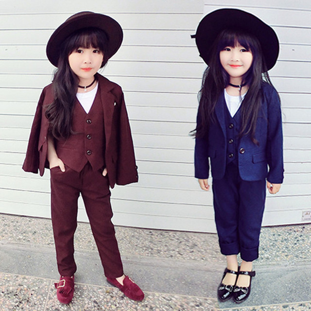 Aliexpress.com : Buy Fashion Show Baby Girl Suit SO COOL Model ...