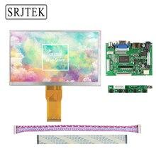 Best price Srjtek 7″ inch LCD Display Screen 1027*600 7300101463 E231732 TFT 50Pins Monitor Driver Board 2AV HDMI VGA For Raspberry Pi 3 2
