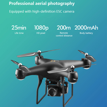 Drone 4K S32T rotating camera quadcopter HD aerial photography air pressure hover a key landing flight 20 minutes RC helicopter 3