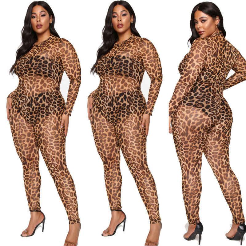 Женская модная сексуальная Прозрачная облегающая Клубная одежда, летний обтягивающий комбинезон для вечеринок, комбинезон, комбинезон, брюки