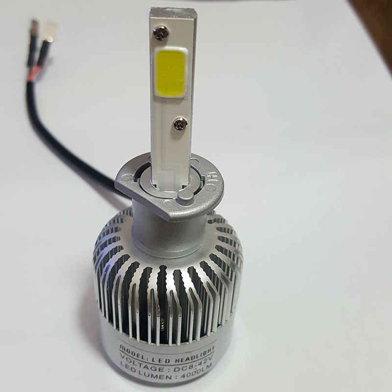 12 В 6000 К Супер удар светодиодный H1 фар автомобиля лампы модернизации СВЕТОДИОДНЫЙ-h1 автомобилей далеко вождения свет фар c6 h1-светодиодный автомобиль-Стайлинг лампа