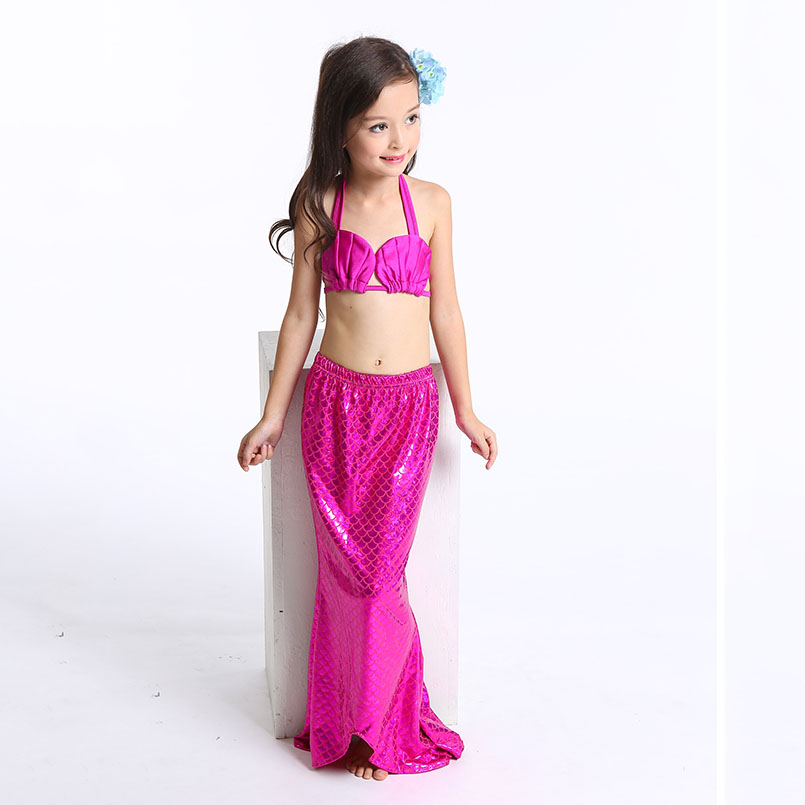 Mermaid Tail Swimming wear-rose-2