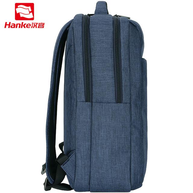 """Hanke Compartment Laptop Backpack 15.6"""" Men Teenage Schoolbag Backpack mochila Women Travel Business Backpacks H6505Q"""