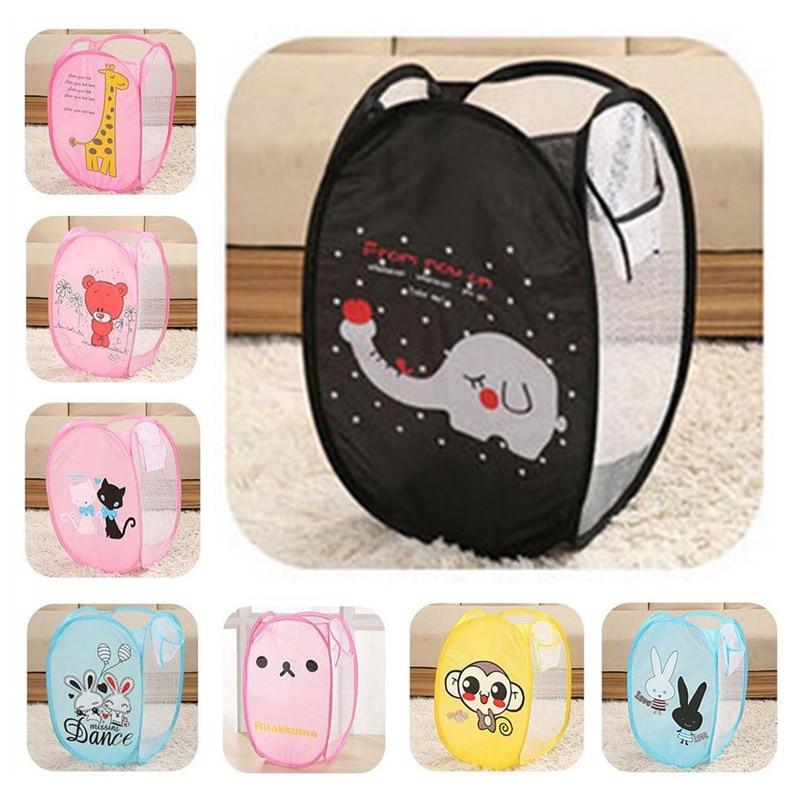 Minions Folding Clothing Laundry Basket Storage bag Children's Toys Shoes Sundries laundry hamper bolsa ropa interior lavadora