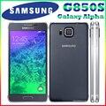Abierto original samsung galaxy alpha g850s g850a g850 2 gb ram 32 GB ROM 12MP 4.7 ''6.7mm Delgado teléfono Móvil Libre gratis