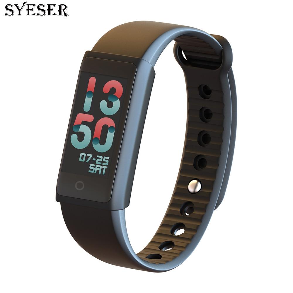 SYESER new S3 smart bracelet blood pressure oxygen fitness band heart rate monitor Wristband sport smartband pk xiomi mi band 2