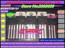 Aoweziic 100% novo importado original IRFB4110 IRFB4110PBF TO 220 MOS FET 100V180A