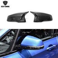 DCR Style Touring Carbon Fiber Rear View Mirror For BMW 2 Series F45 F46 220i 228i M235i & X1 F48 F49 2014 UP X2 F39 car styling