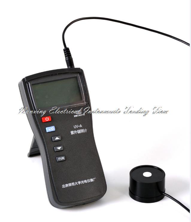 """Greitas atvykimas UV-A Skaitmeninis vieno kanalo nešiojamasis ultravioletinis ultravioletinis UV-420 radiometras zondas """"Lambda"""": 375–475 nm, """"Lambda"""": 420 nm."""