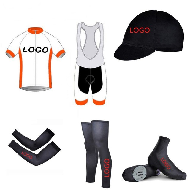 c99060247 6pcs Full set 2018 SGCIKER custom cycling jersey Short sleeve quick dry  bike clothing MTB Ropa Ciclismo Bicycle maillot GEL pad