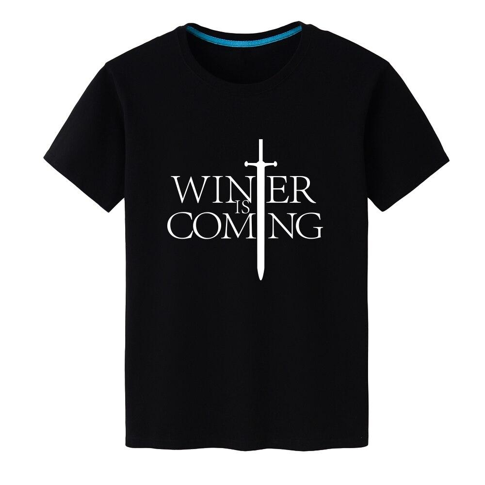 New 2019 Hip Hop Game of Thrones T Shirt Fashion Style Cotton T-shirt Men Clothing Cool Print Top Tee Camisetas S-XXXL