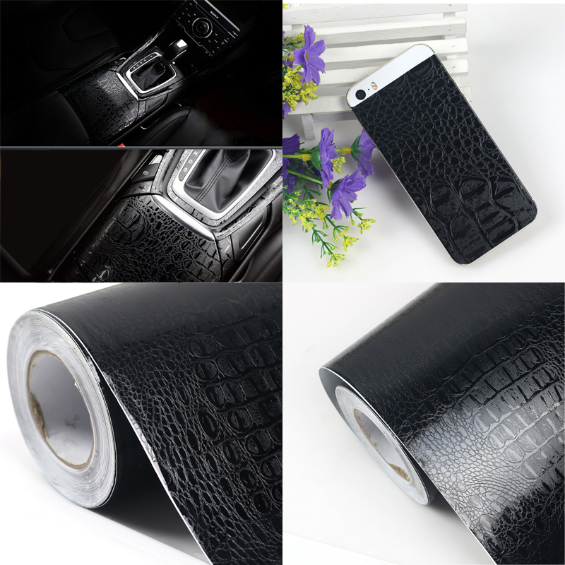 waterproof crocodile grain protector car sticker for vw toyota renault seat leon opel lifan car. Black Bedroom Furniture Sets. Home Design Ideas