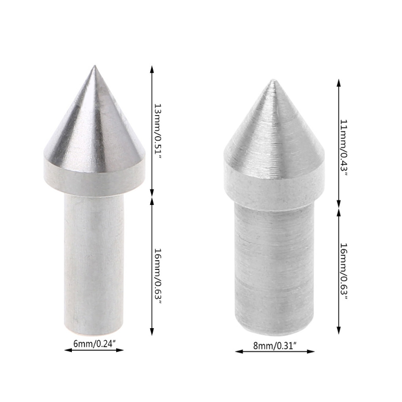 1 Pc Live Center Thimble Drill Bit For Mini Lathe Machine DIY Woodworking Accessories