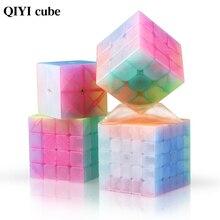 Cube 3x3x3 Jelly Stickerless Magic-Speed QIYI Educational Toys Puzzles 2x2x2 5x5x5 4x4x4