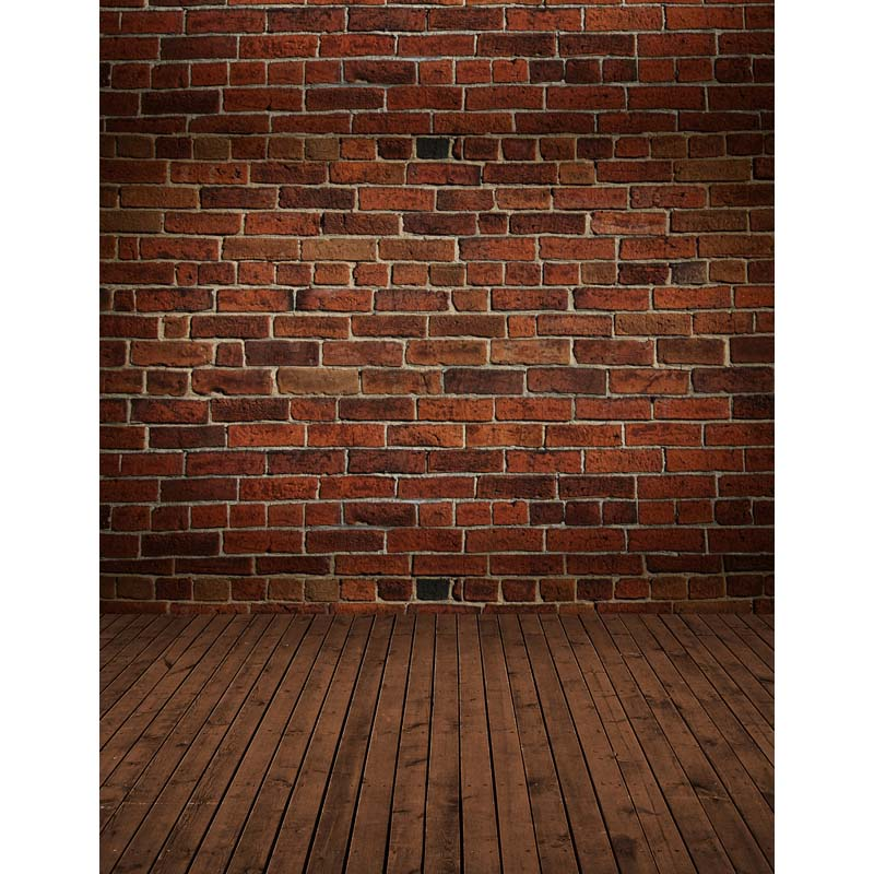Red brick wall vinyl photo studio backdrops for party portrait photography background for sale CM-6738 wooden floor and brick wall photography backdrops computer printing thin vinyl background for photo studio s 1120