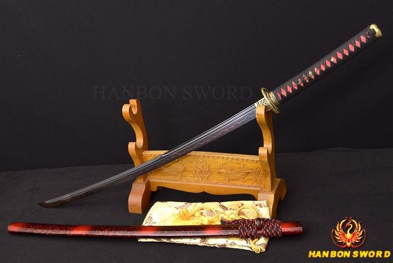 Ձեռքի դարբնոցային կավը Katana Samurai - Տնային դեկոր - Լուսանկար 2