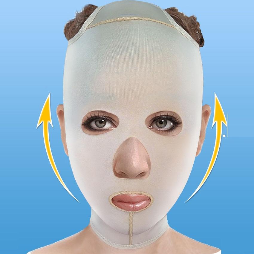 Máscara Facial Face-lift V Rosto Bandagem Linha Gravura Aumenta Nasolabial Dobras Máscara Queixo Duplo