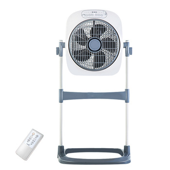 DMWD Liftable Remote Control Electric Fan For Home Air Conditioning Ventilator Cooling Floor Fan 220V 4 Gear 360 Degree Rotating