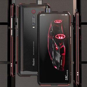 Image 2 - Voor Xiao mi rode Mi K20 pro CASE Metalen Frame Dubbele Kleur Alu Mi Num bumper bescherm Cover Voor Xiao mi rode Mi K20 mi 9 t pro case