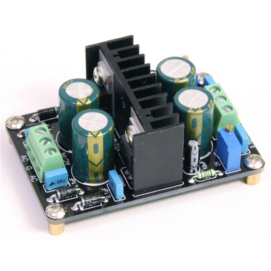 Hot Sale Gsk Low Resistance Output 1a Current Fr204 Lm317 Lm337 5v Variable Power Supply Regulator To 24v Adjustable Amplifier