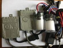 Автомобиль свет комплект быстрый Яркий 45 Вт Цифровой Ксеноновые Балласт + 45 Вт cnlight прямо лампа h1 h3 h7 h9 h10 h11 9005 9006