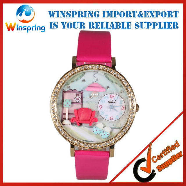 MW-008 Women Clay Handmade Quartz Cheap Watches Free Shipping