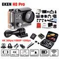 EKEN H8 Pro Ultra 4 K Wifi Action Camera com controle remoto Dual LCD Cam Capacete Filmadora À Prova D' Água ir Câmera esporte H8pro cam