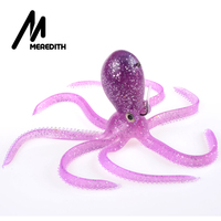 MEREDITH FISHING 280g 24cm Long Tail Soft Lead Octopus Soft Lures Fishing Lures Free Shipping