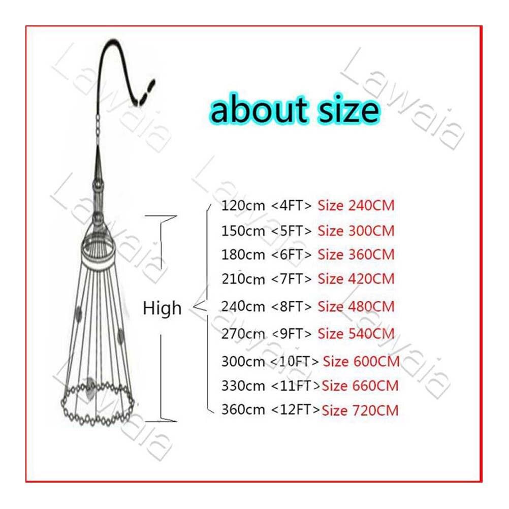 Lawaia diâmetro 2.4 m 7.2 m moldado