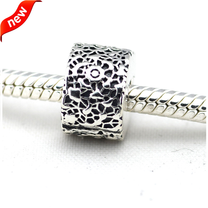 Pandora Jewelry Free Shipping: Fits For Pandora Bracelets Lace Clip Charms 100% 925