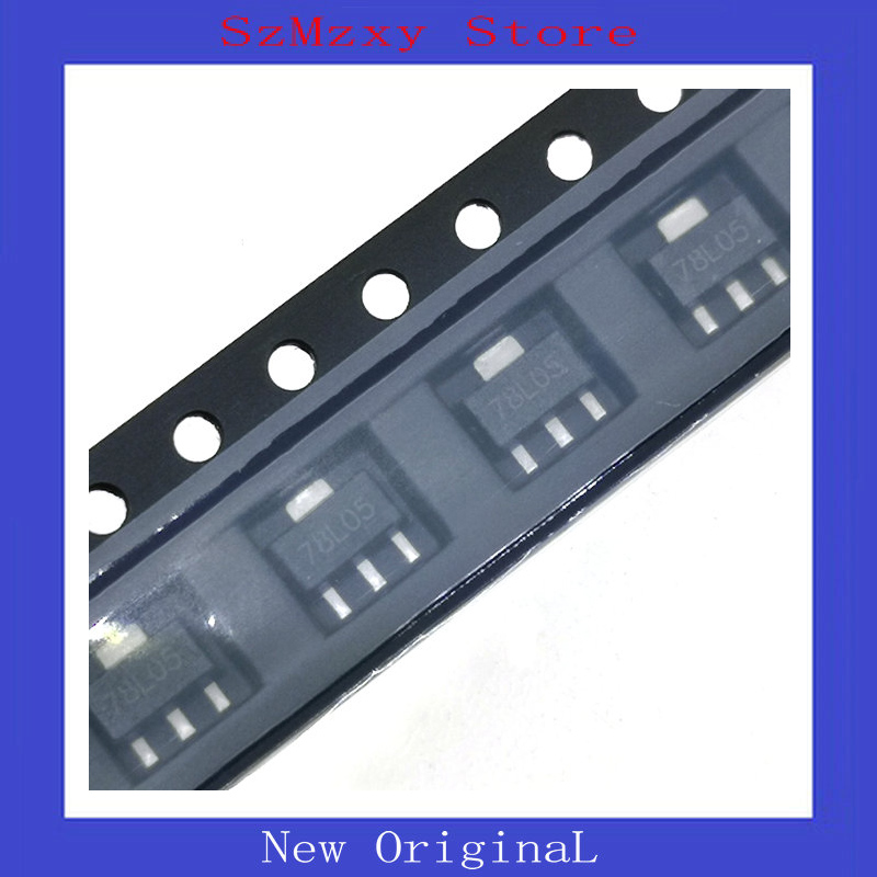 10PCS/LOT 78L05 5V SOT89 L78L05 ROHS