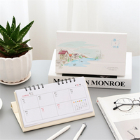 2018 Desk Calendar Simple Diy WallCal Calendar Plan Book Organizer To Do List School Office Calendar