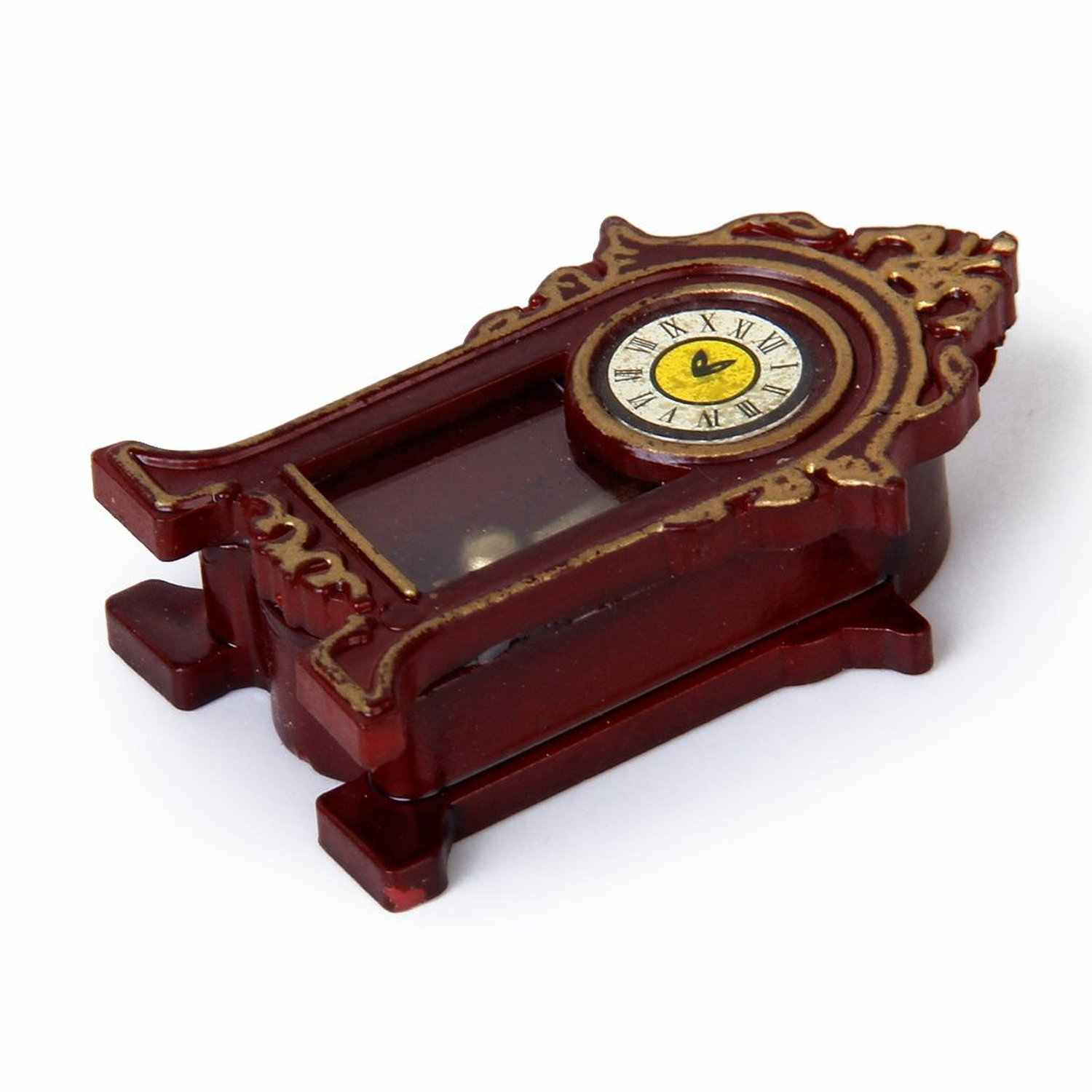 New 1/12 Dollhouse Miniature Halls Classic Table Clock