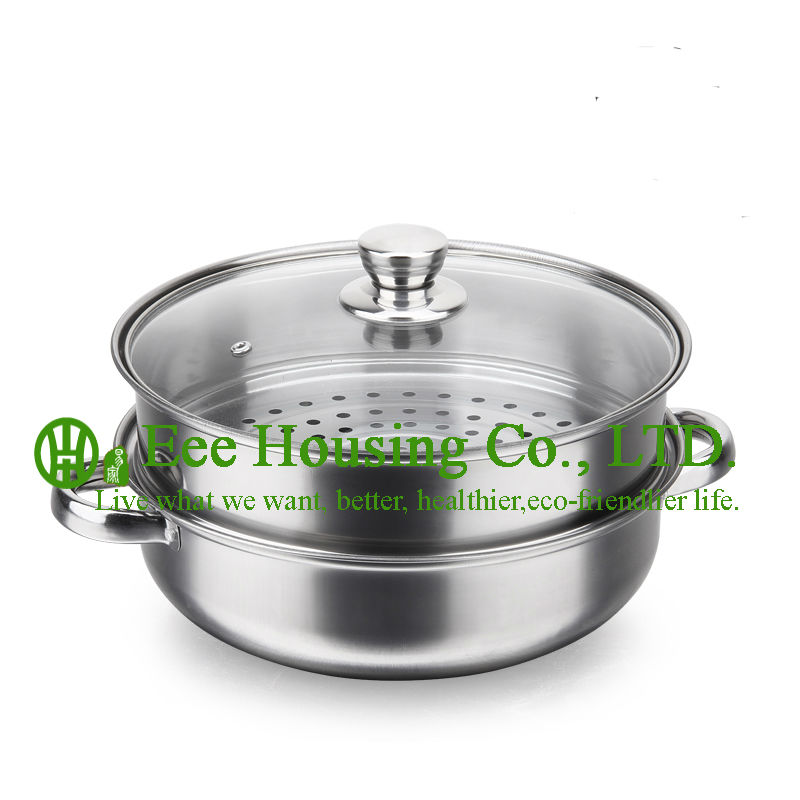 Stainless Steel Cookware Cooking Kitchenware Set Free Shipping Factory Price Cooking Pot,steamer Pot Kitchen