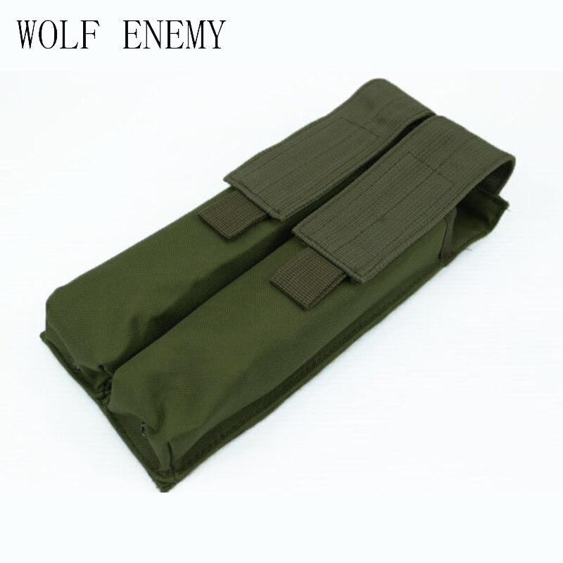 Tactical 600d molle doble Militar p90 revista pouch MultiCam negro ACU de Woodland CAMO
