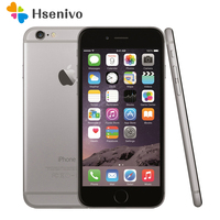 Unlocked Apple iPhone 6 Dual Core 4.7inch 1.4GHz 8.0MP Camera 3G WCDMA 4G LTE Used Phone refurbished