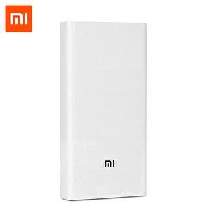 Image 1 - Original Xiao mi Power Bank 3 20000mAh Tragbare Ladegerät Unterstützung QC3.0 Dual USB mi Externe Batterie Bank 20000 für handys