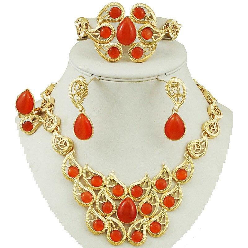 Hot Sale Bead Jewelry New Design Gold Jewelry Fashion Costume