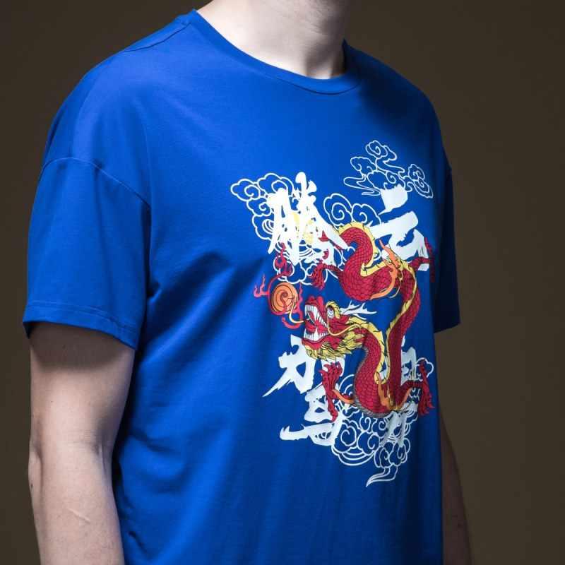 2019 Palazzo Reale Dei Nuovi Uomini di Estate Stampato Rotonda Collare Manica Corta T-Shirt Per Il Tempo Libero Rendono Indumento Superiore senza fodera B192511391