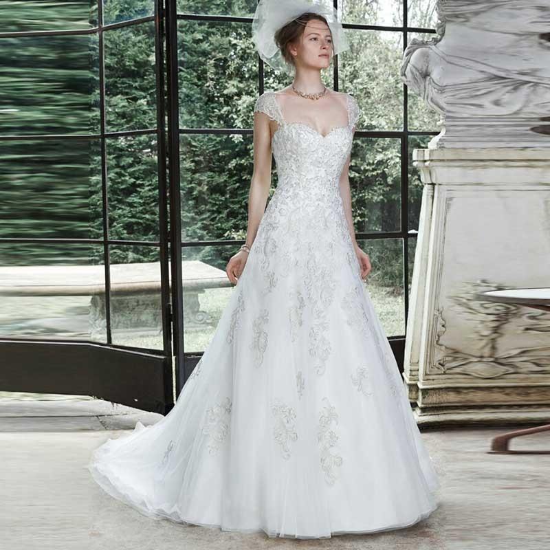 Online buy wholesale wedding dresses princess cut from for Wedding dresses princess cut
