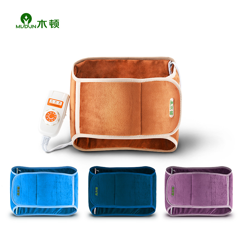 Electric Heating Electro-thermal Waist Protecting Belt Lumbar Strain Keep Warm Uterus Moxibustion Hot Compressor In Winter electric heating waist support belt acoustic thermal lumbar nursing plug in thermostat male
