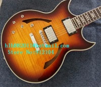 free shipping new Big John 12 strings hollow electric guitar double f hole guitar for jazz music F 3340